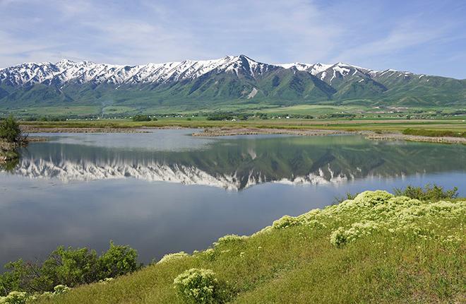 A picturesque scene in Utah.