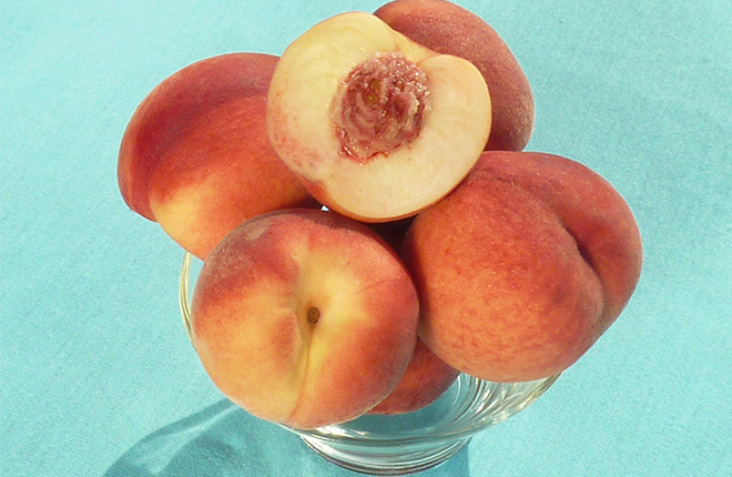 Gulfsnow peaches.