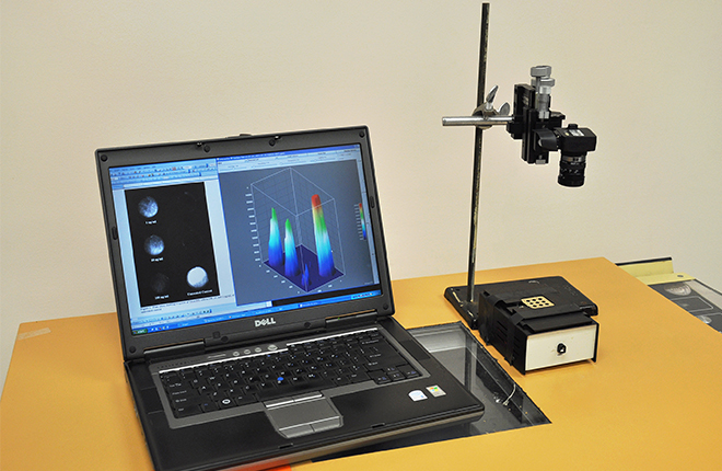 Computer equipment to detect Shiga toxin.