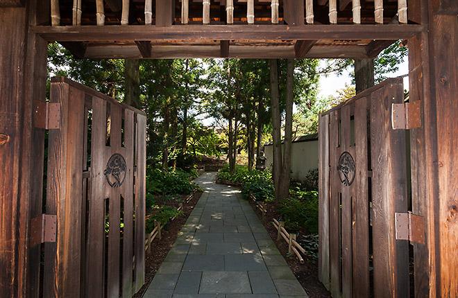 Entrance way to National Bonsai & Penjing Museum